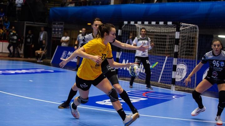 ГК «Ростов-Дон» сыграл вничью с «Бухарестом» в матче Лиги чемпионов