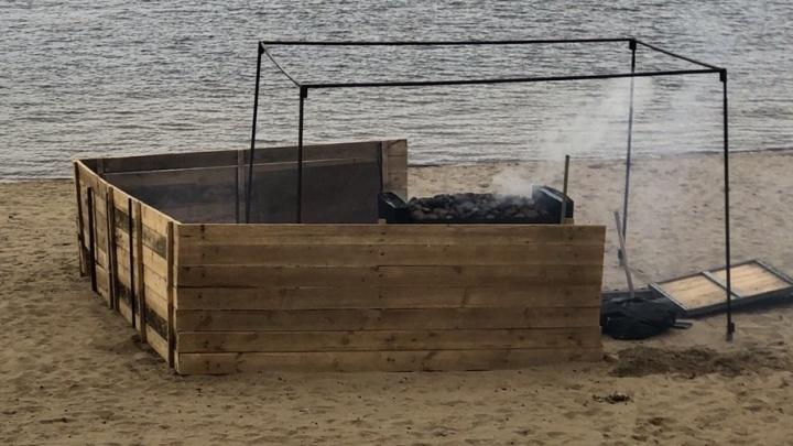 Стало известно, что дымится на набережной в Самаре