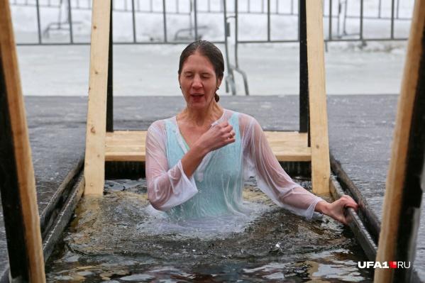 Всего для крещенских купаний в Уфе подготовят 7 купелей