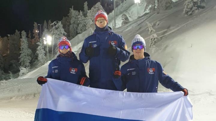 Заняли почти весь пьедестал: ярославские фристайлисты выступили на этапе Кубка мира в Финляндии