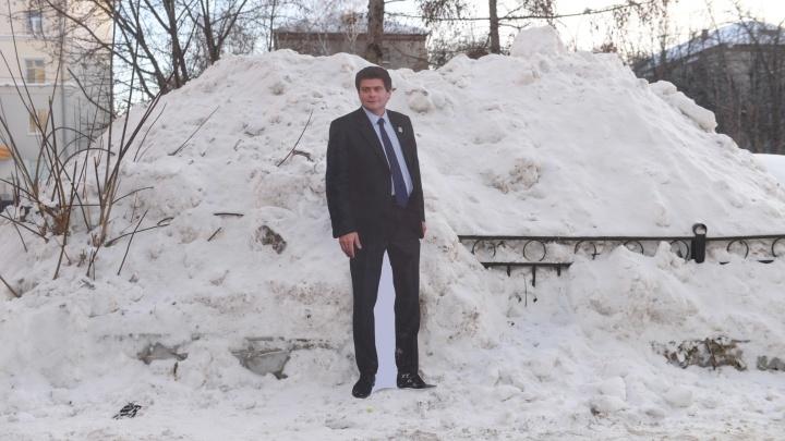 Высокинский прозрел и пообещал уволить глав районов в Прощёное воскресенье, если они не уберут снег