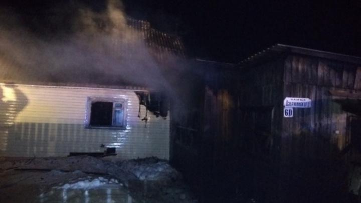 В Кудымкаре после гибели на пожаре отца и трехлетнего ребенка возбудили уголовное дело