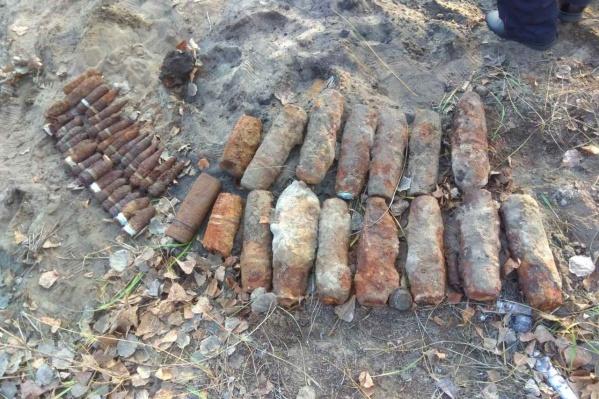 Снаряды уничтожили на месте