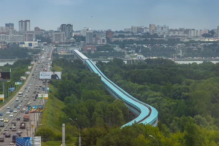 Новосибирский метромост попал в новый телепроект Первого канала