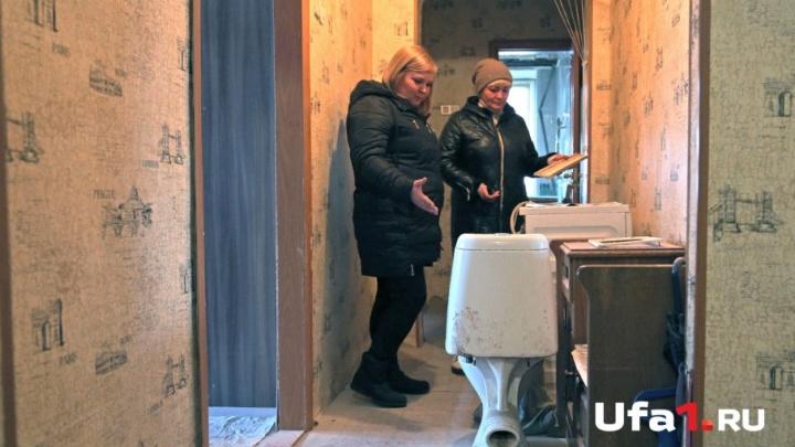 «Унитаз соседей прилетел к нам»: жильцы «нехорошей» квартиры в Башкирии боятся,  что разрушится весь дом