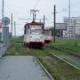 В Металлургическом районе досрочно возобновили движение трамваев