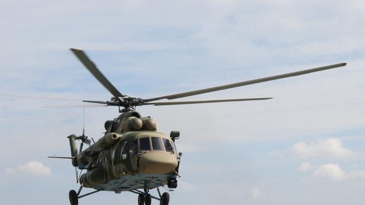 Новосибирские вертолётчики улетели на учения в Киргизию