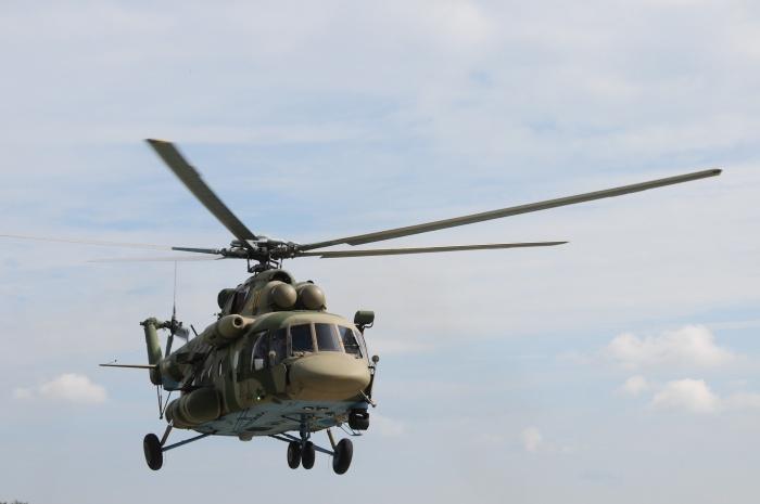 На учения отправили восемь новосибирских вертолётов