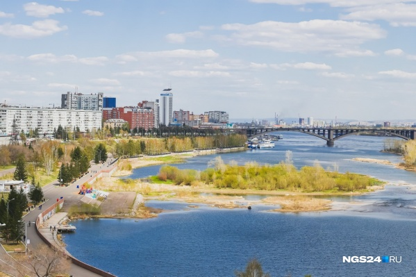 15 октября 2019 года воздух в Красноярске прогрелся до +20,8 градусов