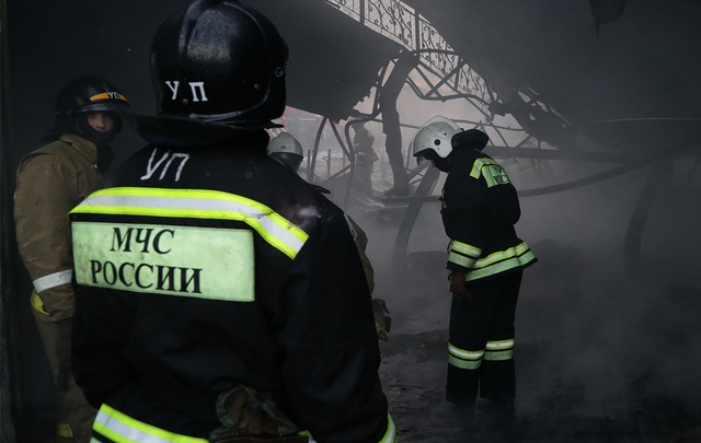 Пожар в Уфе: 15 человек экстренно эвакуированы