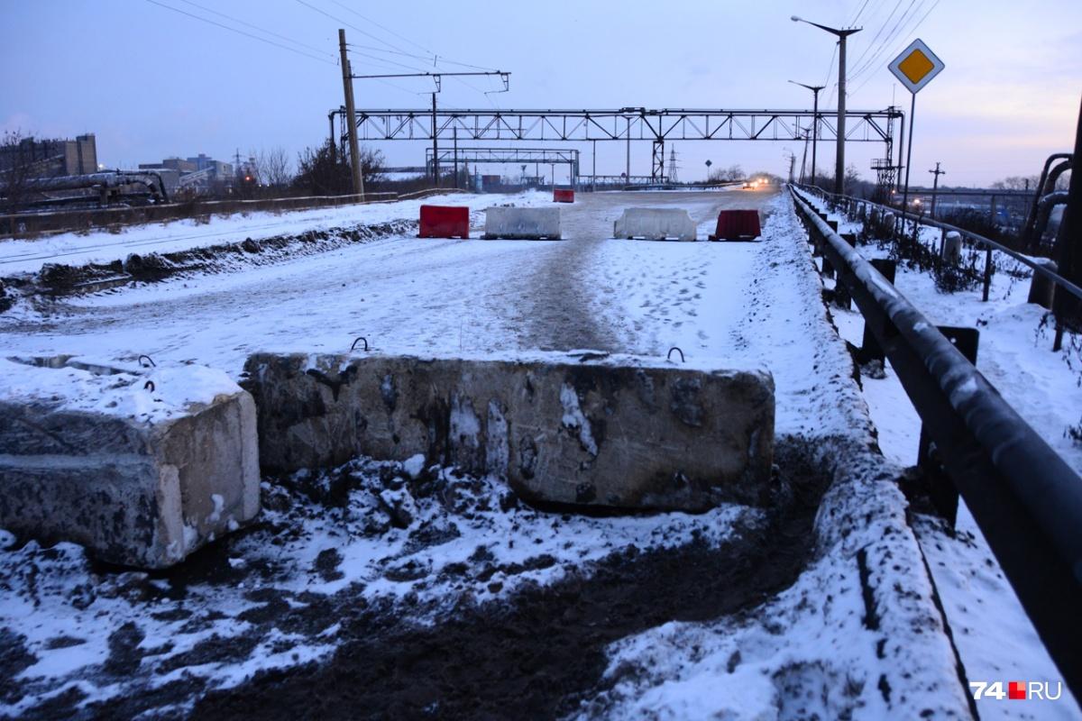 Реконструкция моста продлится как минимум 8 месяцев
