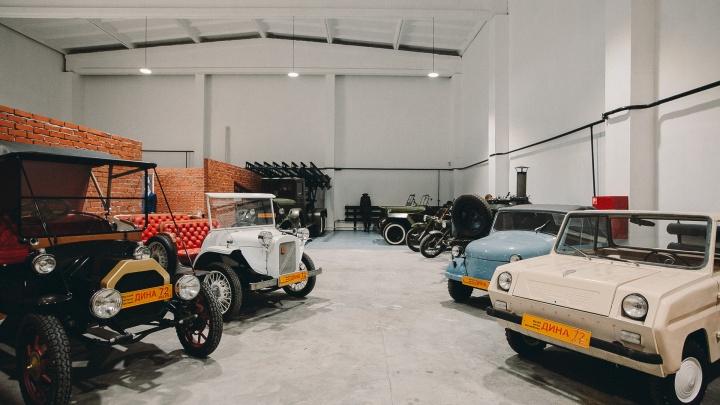 «Черный воронок», машина из фильмов Гайдая и еще о 8 тачках из музея ретротехники