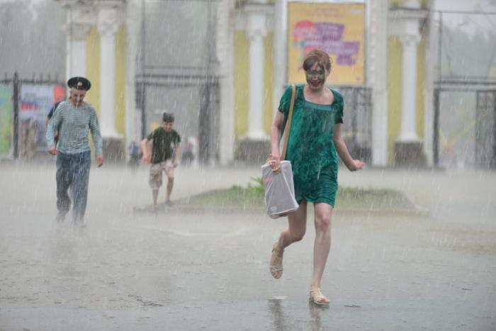 Погода переменчива, так что не забывайте брать с собой на улицу зонт