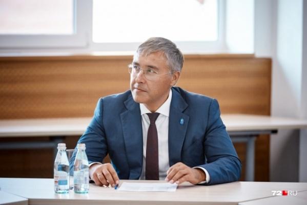 Знакомьтесь — Валерий Фальков. Раньше ректор ТюмГУ, теперь — министр науки и высшего образования