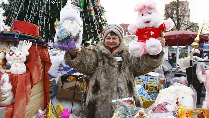Продажа ёлок и обустройство ярмарки на центральной площади Кургана начнётся 15 декабря