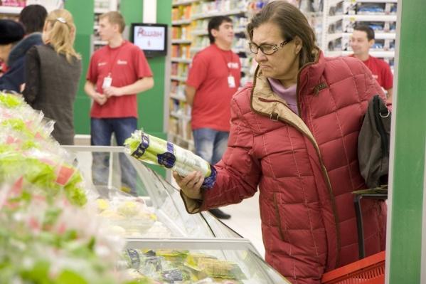 Новосибирцы тратят на продукты минимум 3970 рублей в месяц