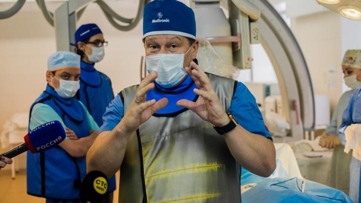 Попали в сердце: врачи спасли шестерых новосибирцев с опасной слабостью и обмороками