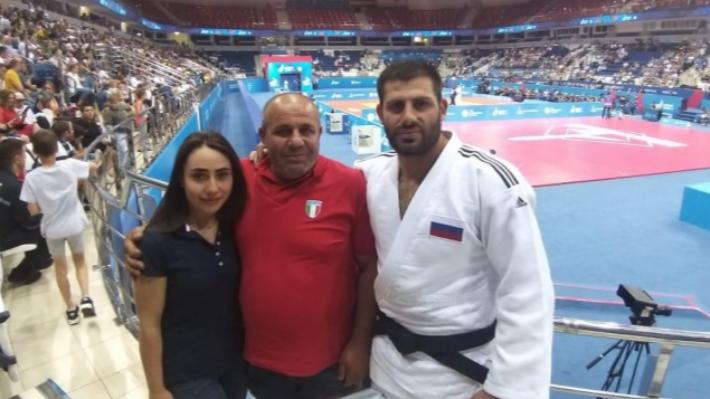 «На меня смотрел мой отец»: волгоградский дзюдоист Арман Адамян выиграл золото Европейских игр