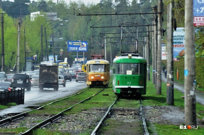 Движение трамваев будет закрытос 23:00 1 июня до 5:00 4 июня