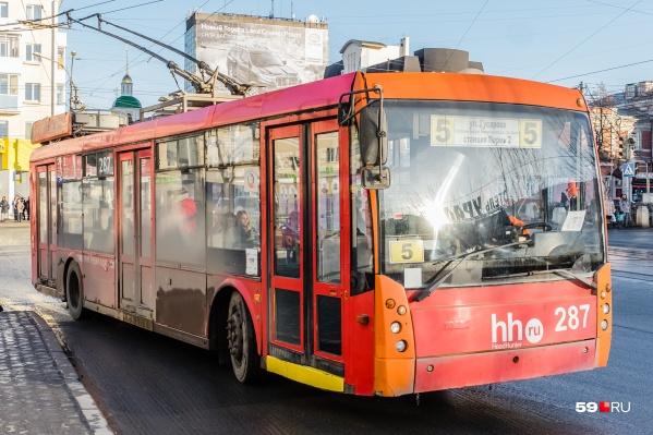 Еще недавно троллейбусы были неотъемлемой частью нашего города