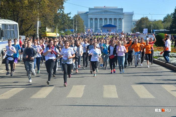 Уральцы будут бегать по Ленина от Мира до Восточной