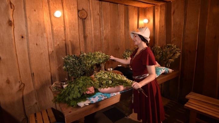 «Парим не только тело, но и душу»: репортаж из «богатырских» бань на Урале