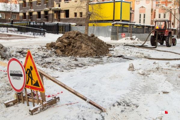 А в дома на улице Гагарина, наоборот, сегодня вернут водоснабжение