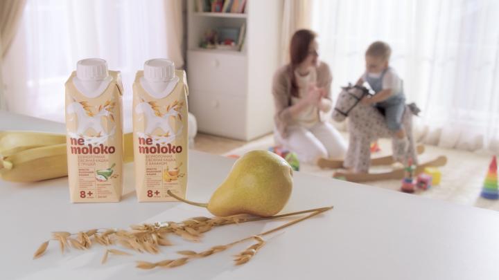 «Сады Придонья» запустили рекламную кампанию в поддержку детского Nemoloko