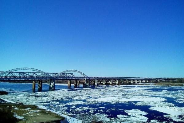 Лед пошел 11 марта