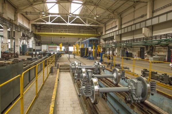 Ремонтные мастерские в метродепо «Ельцовское» работают с 2014 года