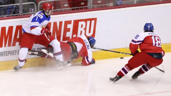Юниорская сборная России обыграла команду Чехии