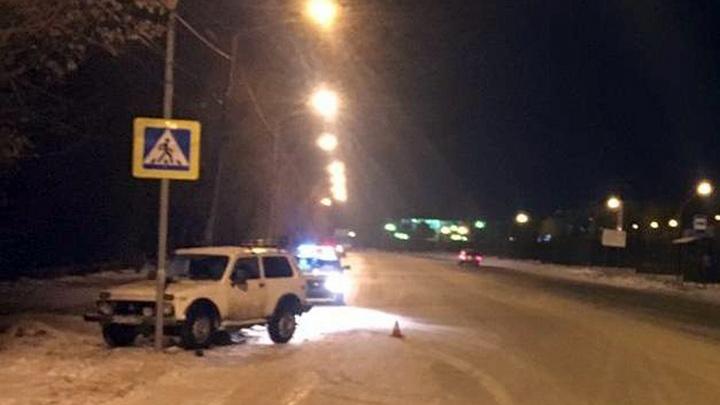 Пьяный водитель сбил пятилетнюю девочку
