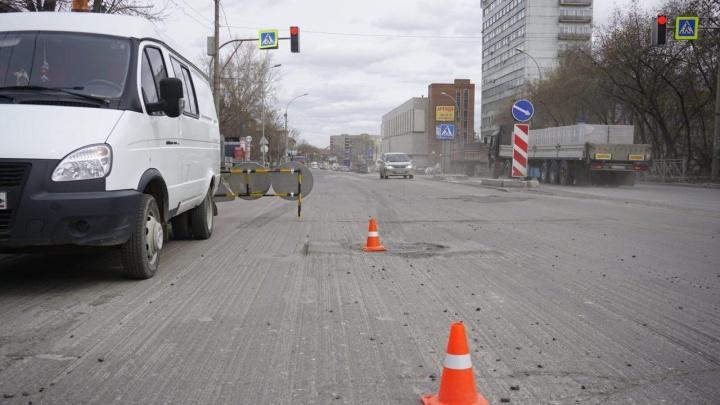 Ровный асфальт за 92 миллиона: власти начали новый ремонт на Немировича-Данченко
