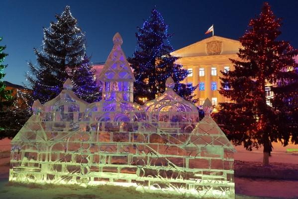 Ледяной городок возведут до 22 декабря