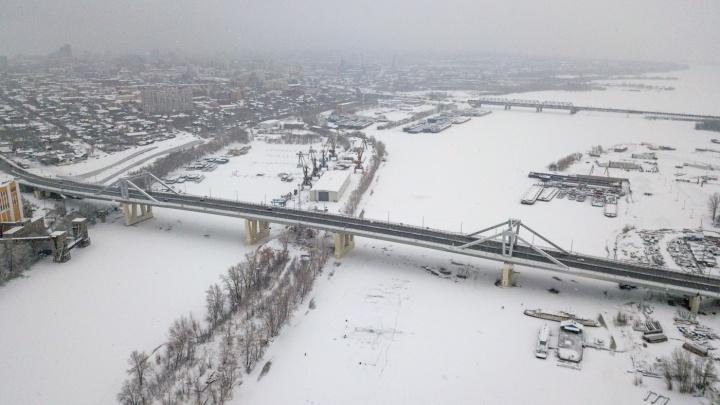 В мэрии Самары сообщили, когда по Фрунзенскому мосту будет курсировать общественный транспорт