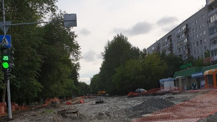 Ремонт Одесской снова затянулся. Рассказываем, когда откроют улицу (но это опять не точно)