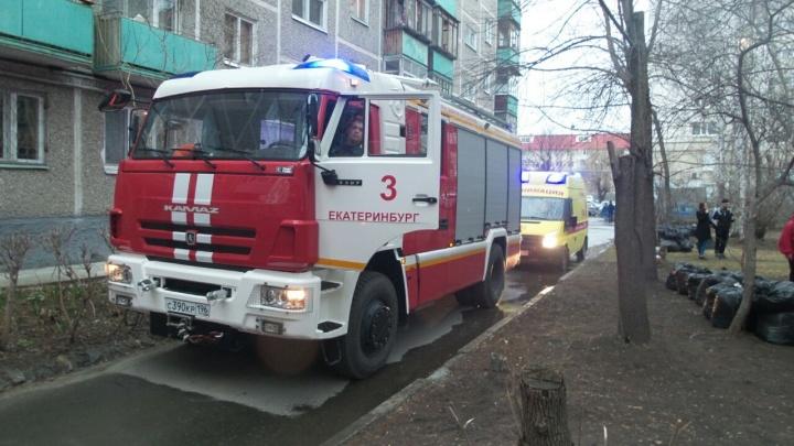 Во время пожара в квартире на Белореченской погибла девушка