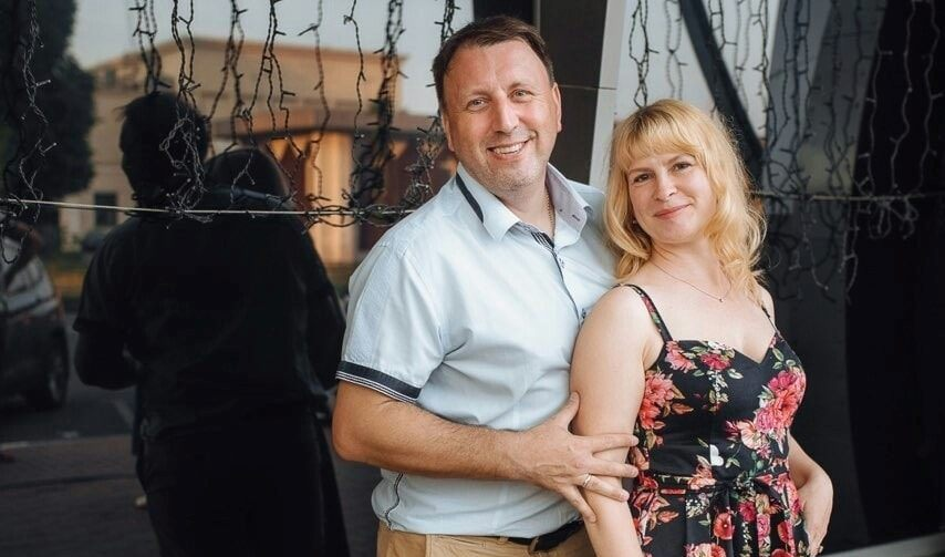 Виктор Ворошилов с супругой Ириной