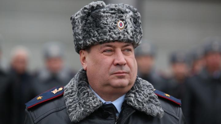 Звезда упала на погоны: главу МВД Башкирии Романа Деева повысили в звании