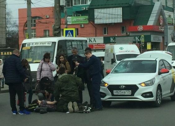Авария произошла недалеко от гостиницы «Виктория»
