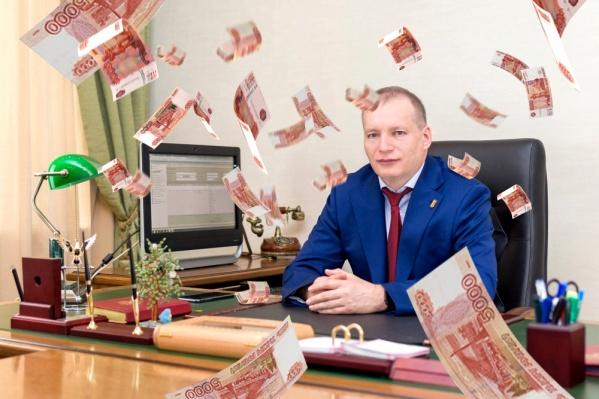 Руководитель Красноярскстата Сергей Окладников