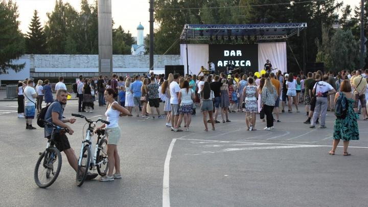 Площадь в центре Омска перекроют на неделю из-за Дня города
