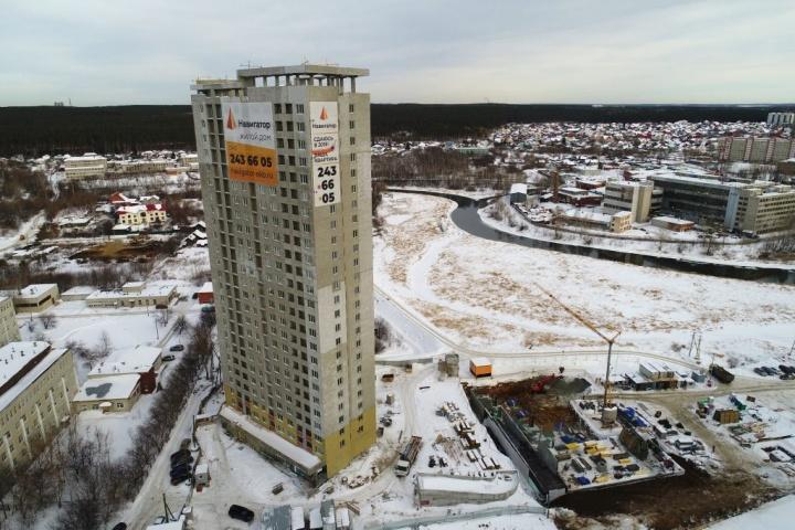 На конец февраля в жилом доме «Навигатор» продано более 80% квартир