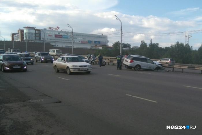 Авария произошла 30 июля примерно в половине шестого вечера