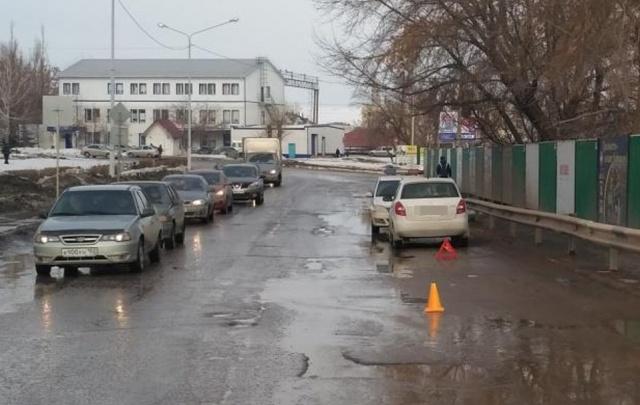 В Башкирии водитель иномарки сбил пенсионерку на зебре