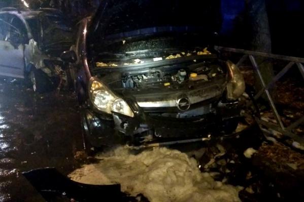 Авария произошла после полуночи