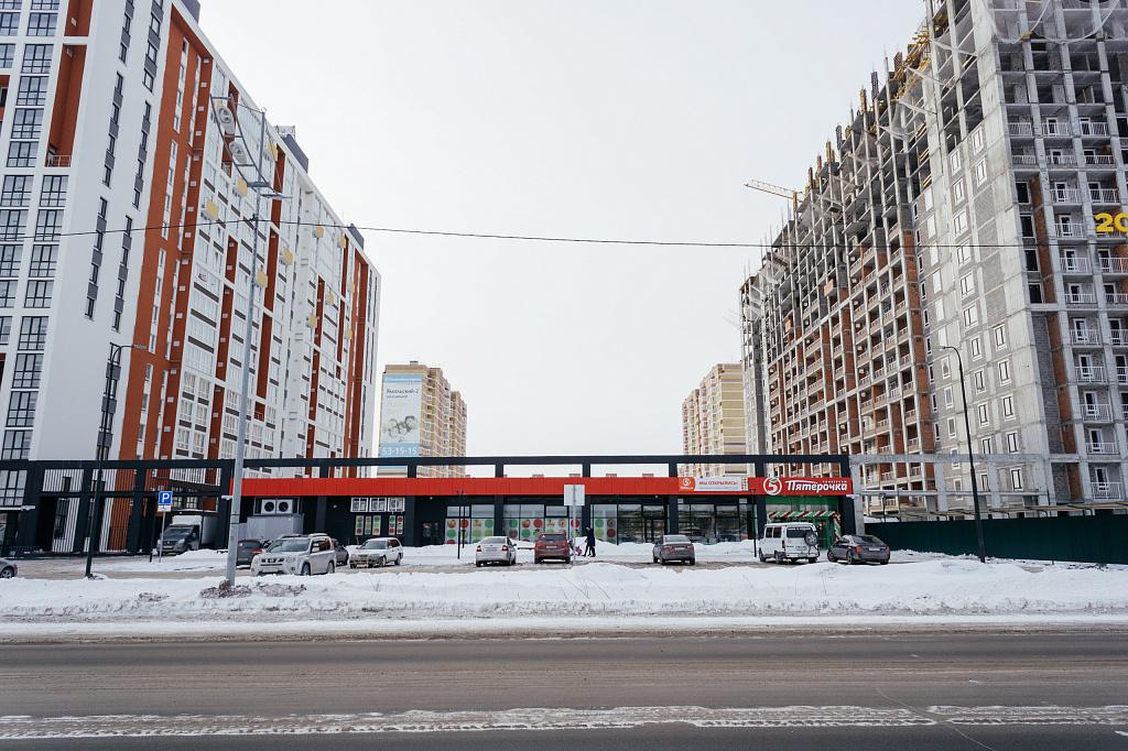 В марте в ЖК «Клевер парк» открылся магазин«Пятерочка»