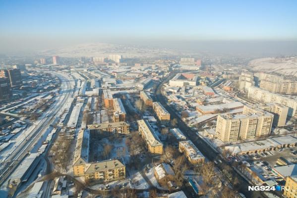 Красноярск в дни НМУ