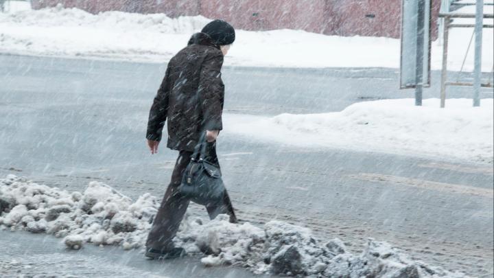 Иначе не сказать — «ворота в Арктику»: фотографии со снежных гор в центре Архангельска