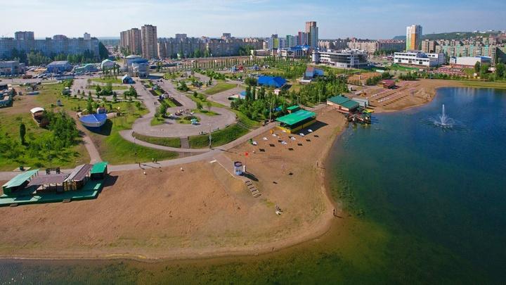 В Уфе парк Кашкадан реконструируют